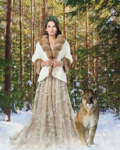Красивая фотосессия Эвелины Блёданс