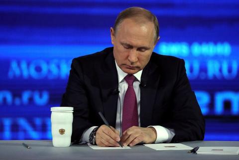 Вопросами Путину заинтересовались в СК России и Генпрокуратуре
