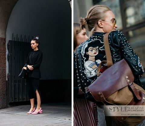 Стиль гостей недели моды в Хельсинки