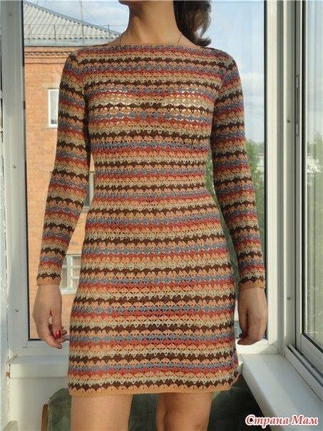 tanusha224: Вязание: платье крючком