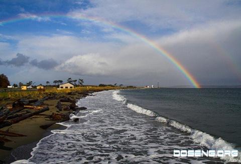 Подборочка фотографий с радугой