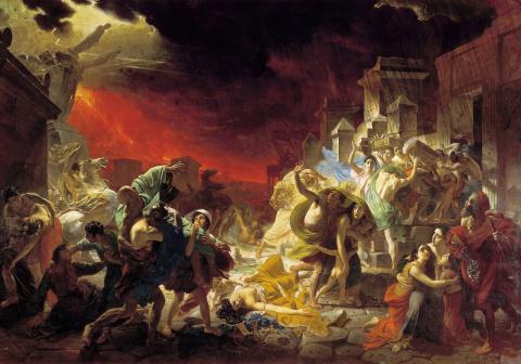 Последний день Помпеи: связь прошлого с настоящим