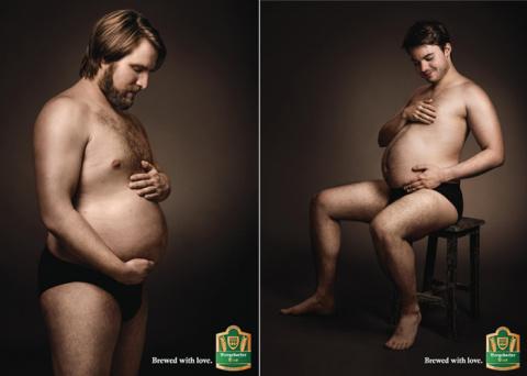 """""""Беременные"""" мужчины в ориги…"""