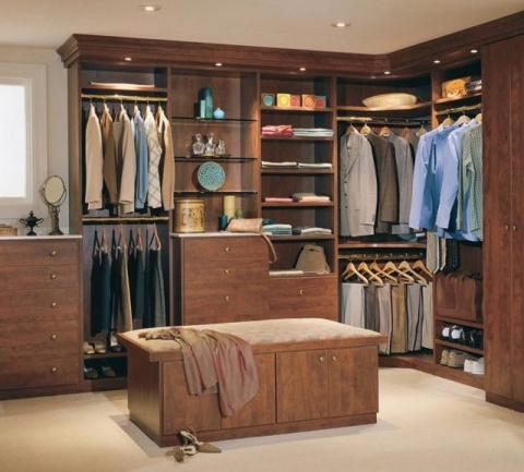 Шмкарные интерьеры гардеробн…