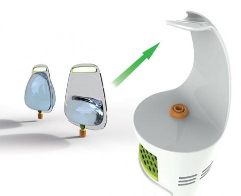 Мягкий мешок на смену пластиковым канистрам для воды