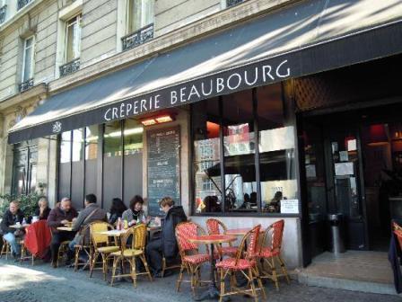 Блины в Париже