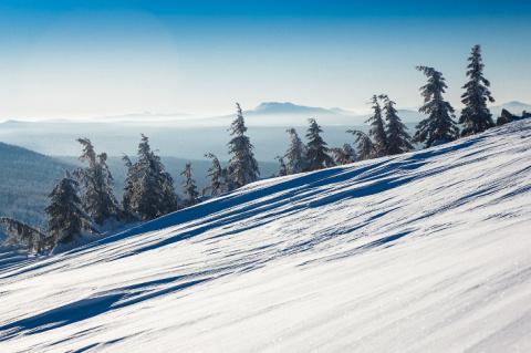 Снежная сказка Таганая
