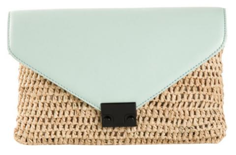 Пляжные клатчи дополнят образ городских модниц