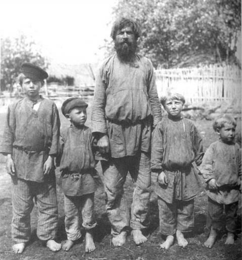 Хозяйственные обязанности мальчиков в русской крестьянской семье