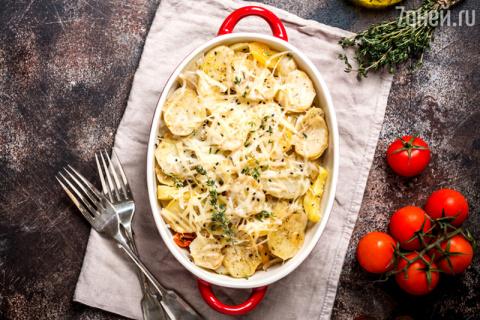 Картофель «Буланжер»: рецепт…