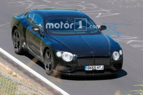 Купе Bentley Continental GT …