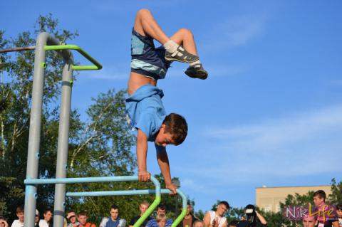 «Стрит Воркаут»-тренировки с собственным весом и продвижение идеи здорового образа жизни среди молодёжи.