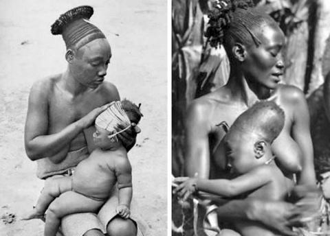 Шокирующие традиции: зачем представители разных племен мира занимались деформацией черепа