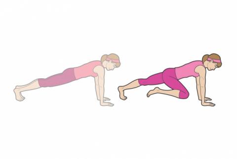 6 упражнений, который действительно помогут убрать живот.