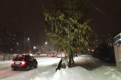 На Южном Урале при температу…