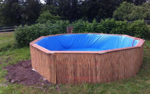 Как построить бассейн из простых деревянных поддонов: дешевле и практичнее не придумаешь