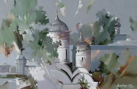 Художник Виктор Подгорный