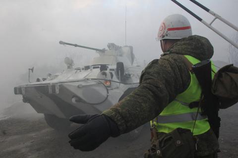 Морпехи Северного флота отби…