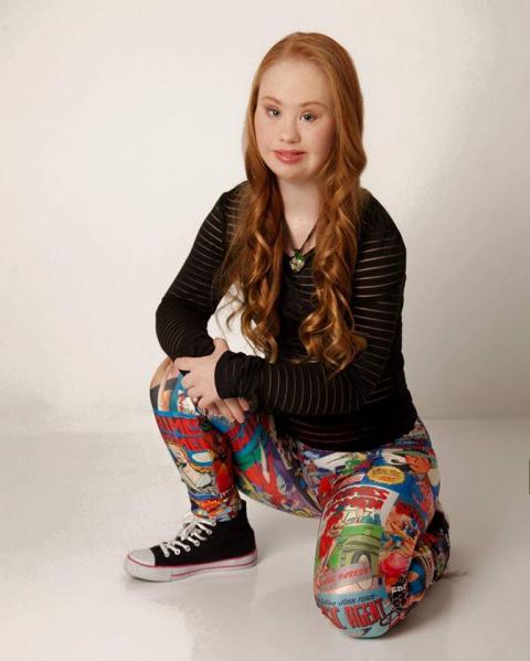 Девушка с синдромом Дауна стала лицом рекламной кампании спортивной одежды