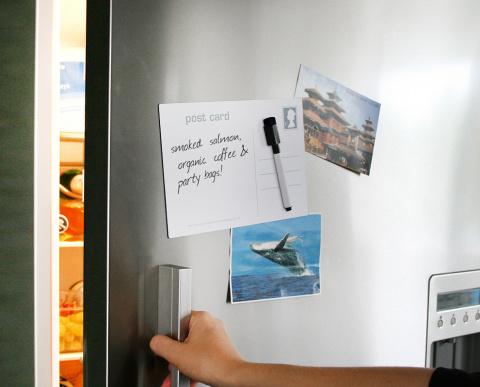 10 магнитов для записок на холодильнике