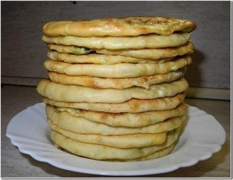 Домашние хачапури или просто лепёшки с сыром