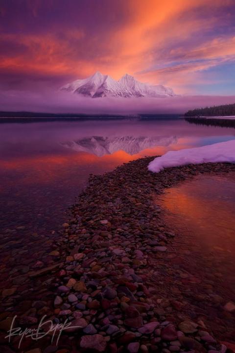 Национальный парк Глейшер - …