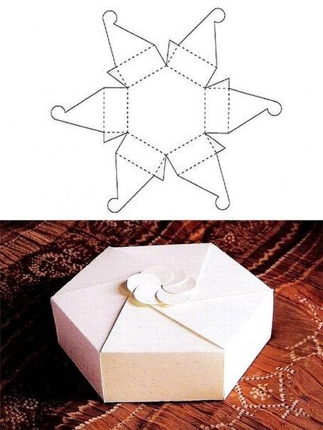 Как сделать коробочку своими руками в подарок
