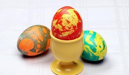 Красим яйца к Пасхе: 10 способов