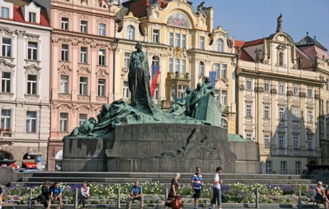 Едем в Прагу. Символ свободы Праги