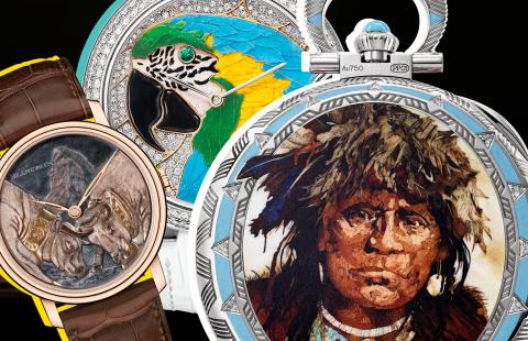 Кто и как превращает часы в произведение искусства