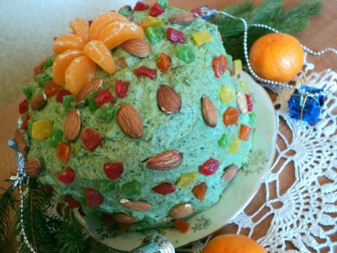 Торт «Новогодняя елка». Рецепт Людмилы Головченко