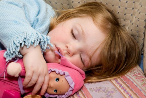 Как уложить ребёнка спать за пять минут