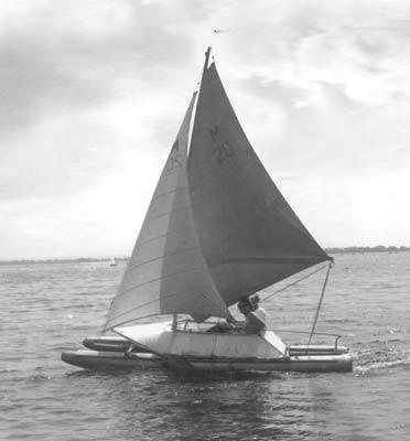Книга В.М. Перегудова «Парусные байдарки, катамараны, тримараны и надувные лодки»