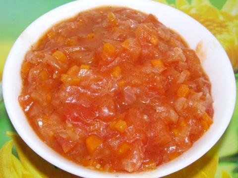 Простой рецепт вкусного томатного соуса