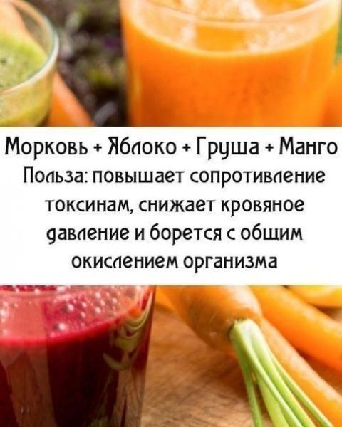 Это полезно знать: фрукты и овощи