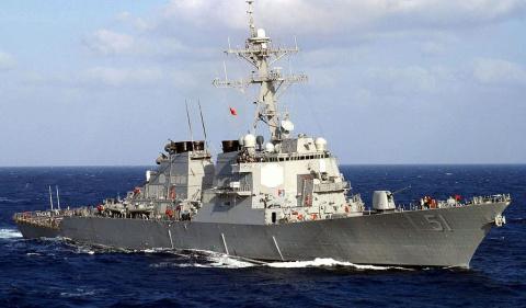 Американский эсминец решил наладить связь с коллегами в Черном море