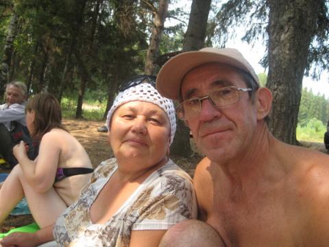 Мисхат и Насима Хайрутдиновы