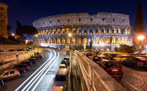 В центре Рима прогремел взрыв