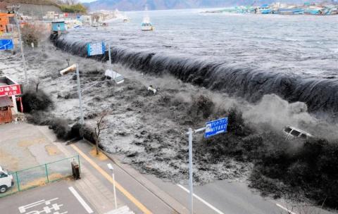 Самые крупные цунами за последние 10 лет