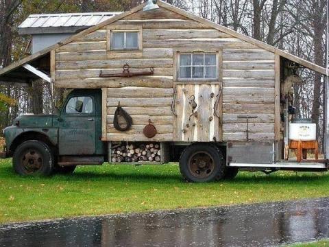 Дом на колёсах.