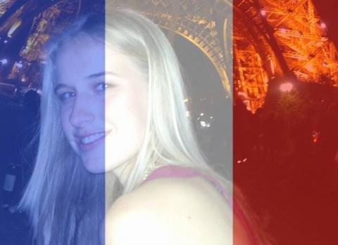 """Сеть """"взорвало"""" обращение выжившей девушки после теракта во Франции"""