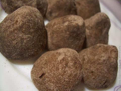 Домашние конфеты - трюфели