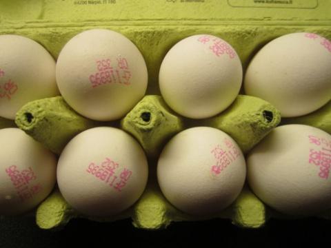 Про яйца...