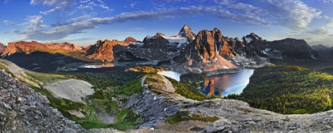 Красивые панорамные фото природы Marian Matta