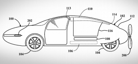 Toyota запатентовала летающи…