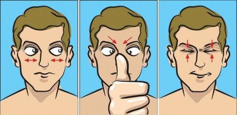 Гимнастика для глаз от известного окулиста доктора Юджина Брэбхема