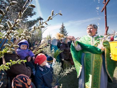 Вербное воскресенье 2015: дата праздника и его традиции