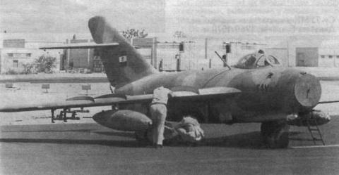 Истребитель МиГ-17 был еще и штурмовиком