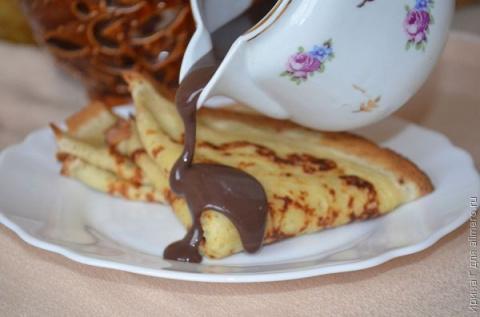 Шоколадный соус для блинов и…