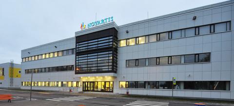 На фармацевтическом заводе «Новартис-Нева» в Санкт-Петербурге запущено коммерческое производство